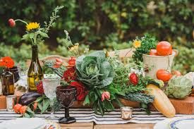 Farmers Market Wedding Picture